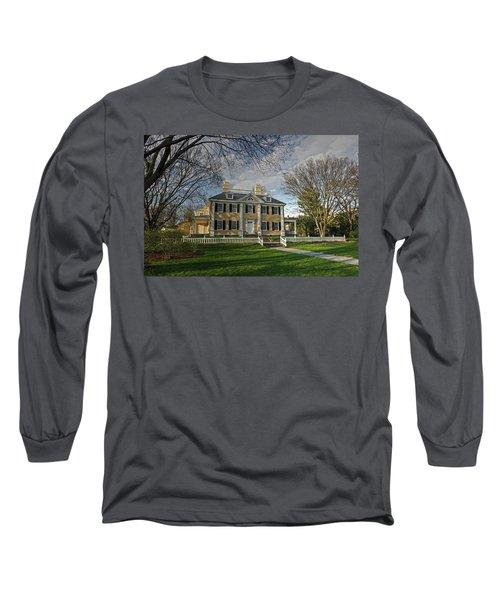 Springtime At Longfellow House Long Sleeve T-Shirt