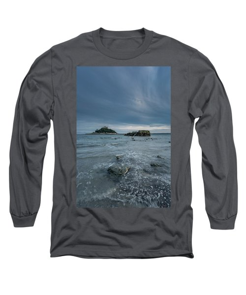 St Michael's Mount - Marazion - Cornwall Long Sleeve T-Shirt