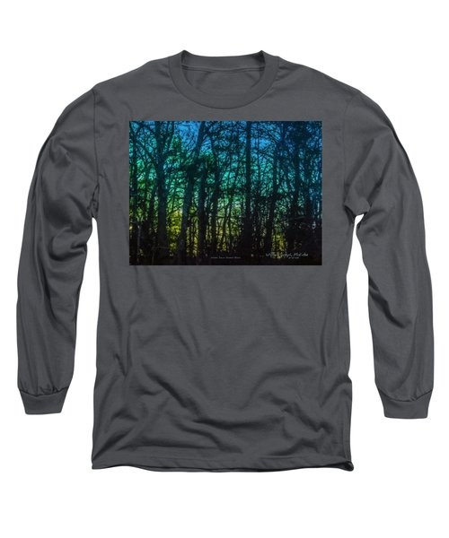 Stained Glass Dawn Long Sleeve T-Shirt