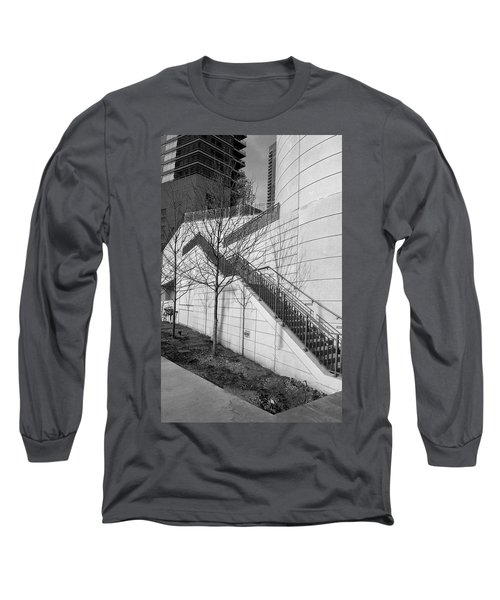 Stairs Up The Side Long Sleeve T-Shirt