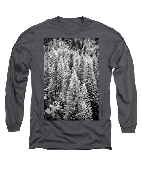 Standing Tall In The French Alps Long Sleeve T-Shirt