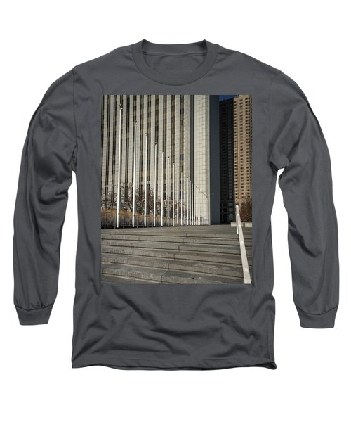 Steps And Poles Long Sleeve T-Shirt