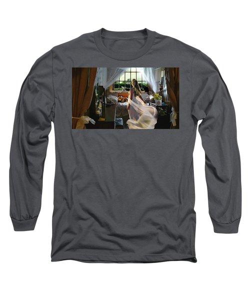 Still Twirling In My Room Long Sleeve T-Shirt