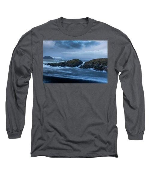 Storm At The Sea Long Sleeve T-Shirt