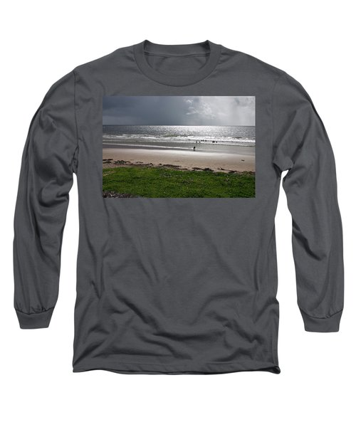 Storm Brewing Over The Sea Long Sleeve T-Shirt