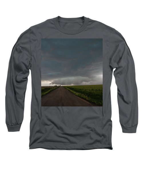 Storm Chasin In Nader Alley 025 Long Sleeve T-Shirt