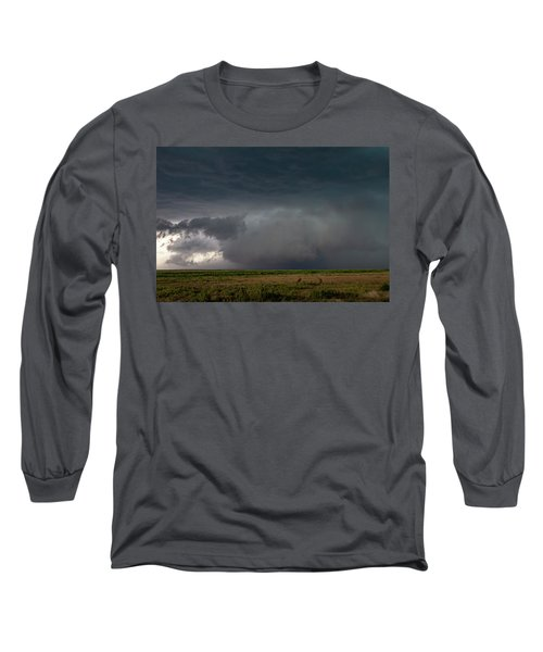 Storm Chasin In Nader Alley 030 Long Sleeve T-Shirt