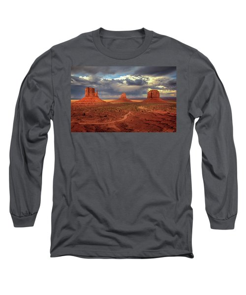 Stormy Background Long Sleeve T-Shirt