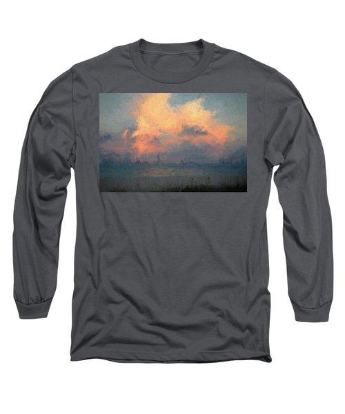 Stormy Beach Long Sleeve T-Shirt