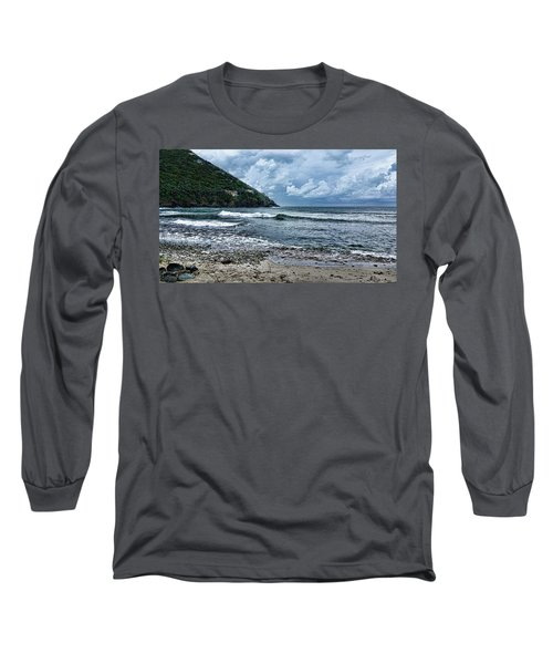 Stormy Shores Long Sleeve T-Shirt