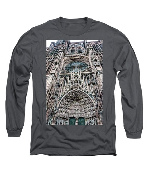 Strasbourg Cathedral Long Sleeve T-Shirt