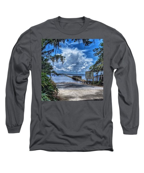 Strolling By The Dock Long Sleeve T-Shirt
