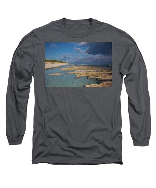 Stromatolites On Stocking Island Long Sleeve T-Shirt