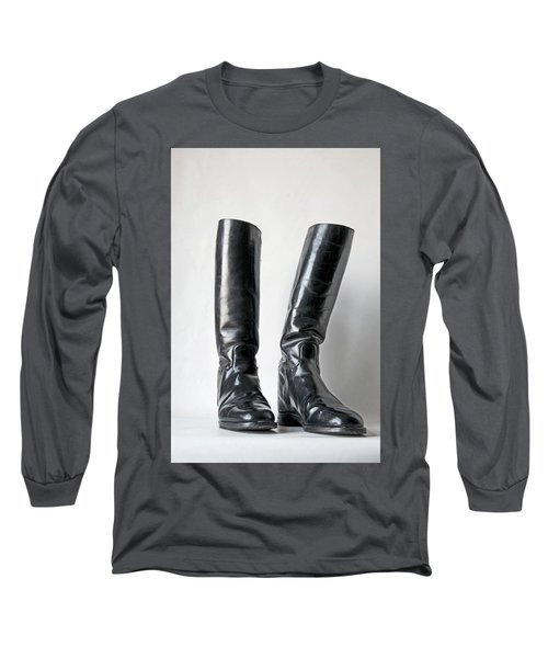 Studio. Riding Boots. Long Sleeve T-Shirt