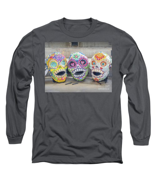 Sugar Skulls Long Sleeve T-Shirt