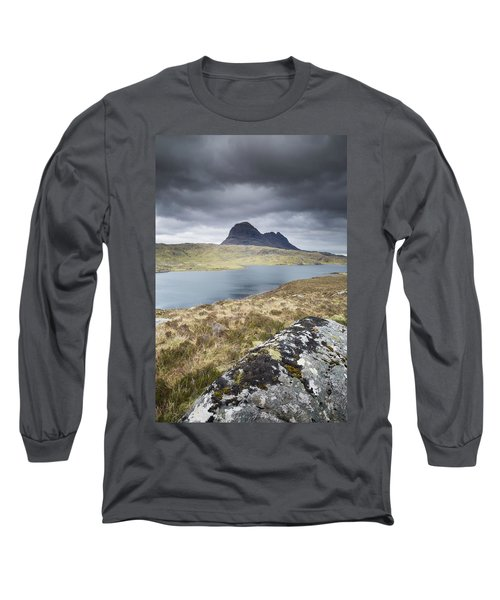 Suilven On A Stormy Day Long Sleeve T-Shirt