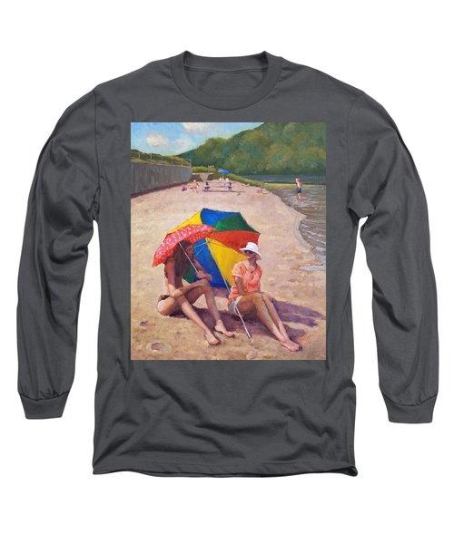 Summer At Jersey Valley Long Sleeve T-Shirt