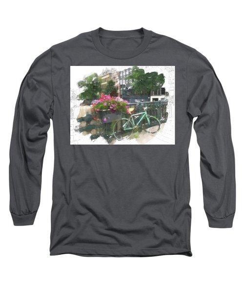 Summer In Amsterdam Long Sleeve T-Shirt