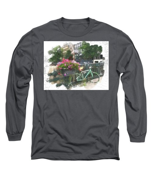 Summer In Amsterdam Long Sleeve T-Shirt