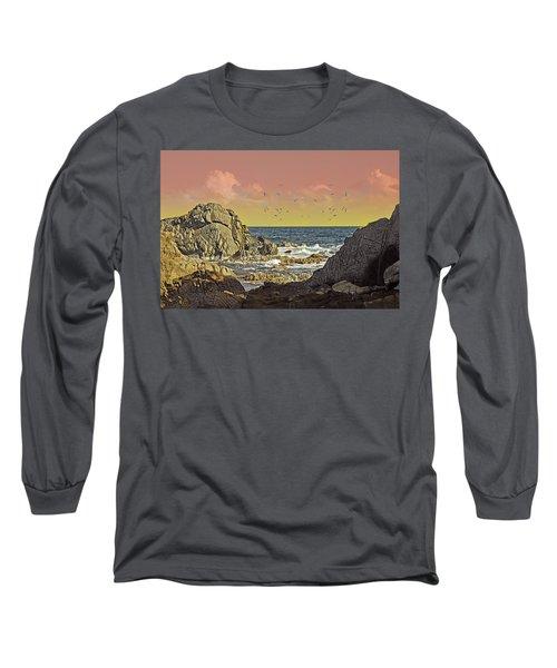 Sundown At Buck Long Sleeve T-Shirt