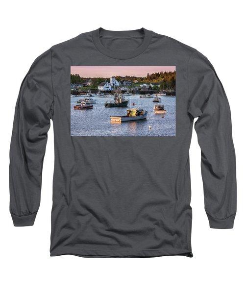 Sundown At Cutler, Maine Long Sleeve T-Shirt
