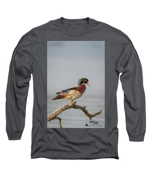 Sunny Day Wood Duck Long Sleeve T-Shirt