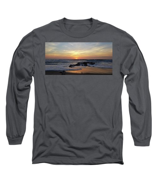 Sunrise At The 15th St Jetty Long Sleeve T-Shirt