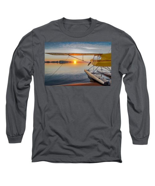 Sunrise Seaplane Long Sleeve T-Shirt