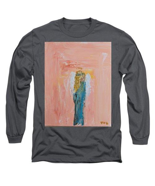 Sunset Angel Long Sleeve T-Shirt