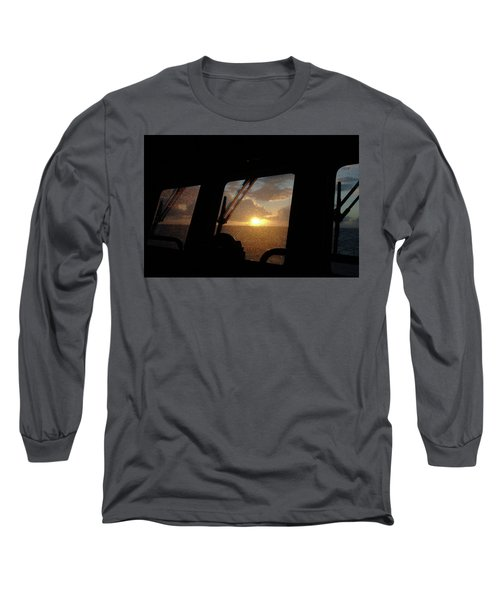 Sunset At Sea Long Sleeve T-Shirt