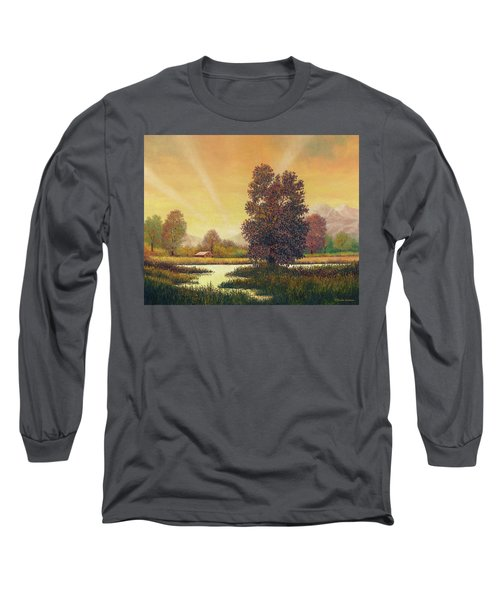 Sunset Color Long Sleeve T-Shirt