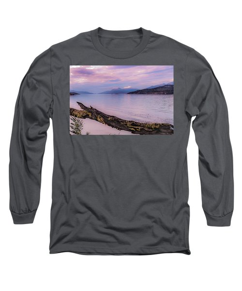 Sunset In Ushuaia Long Sleeve T-Shirt