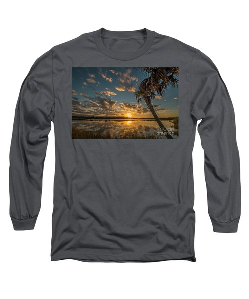 Sunset On The Pond Long Sleeve T-Shirt