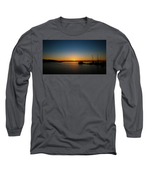 Sunset Over The Potomac Long Sleeve T-Shirt