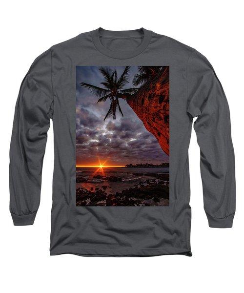 Sunset Palm Long Sleeve T-Shirt
