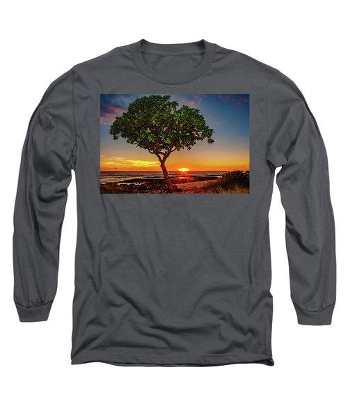 Sunset Tree Long Sleeve T-Shirt