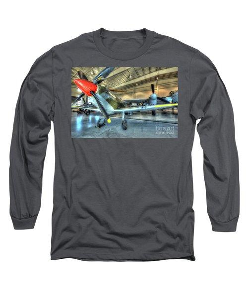 Supermarine Mk-1xe Spitfire Long Sleeve T-Shirt