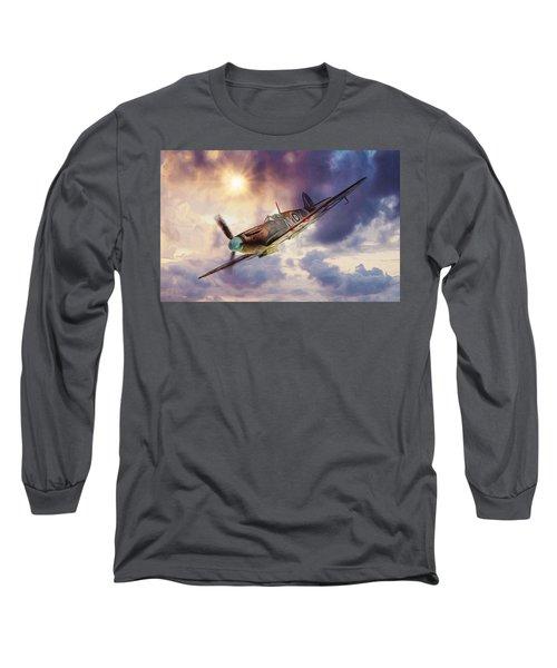 Supermarine Spitfire Long Sleeve T-Shirt