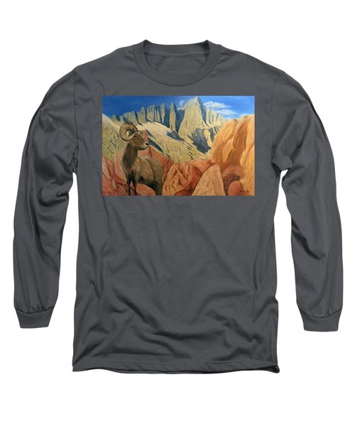 Taking In The Morning Long Sleeve T-Shirt