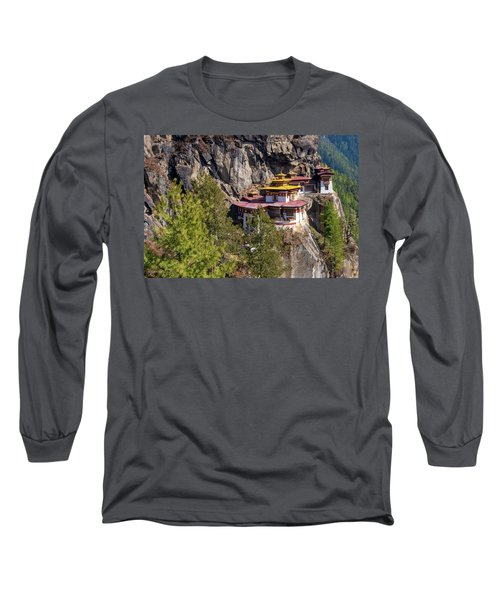 Taktsang Monastery  Long Sleeve T-Shirt
