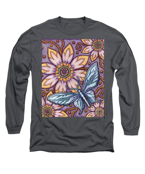 Tapestry Butterfly Long Sleeve T-Shirt
