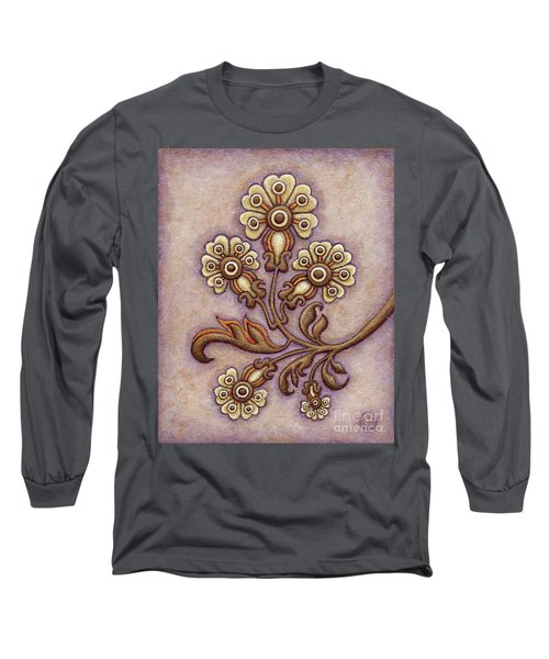 Tapestry Flower 4 Long Sleeve T-Shirt