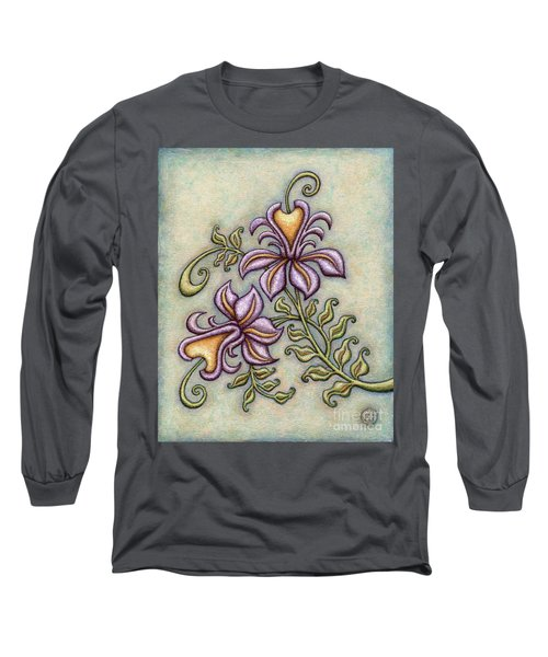 Tapestry Flower 8 Long Sleeve T-Shirt