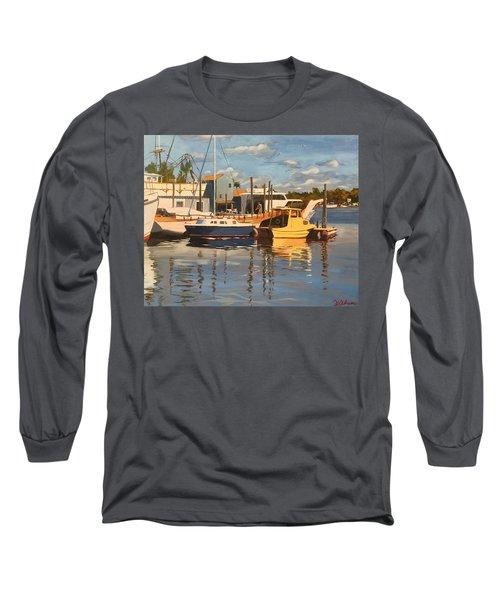 Tarpon Springs Harbour Long Sleeve T-Shirt