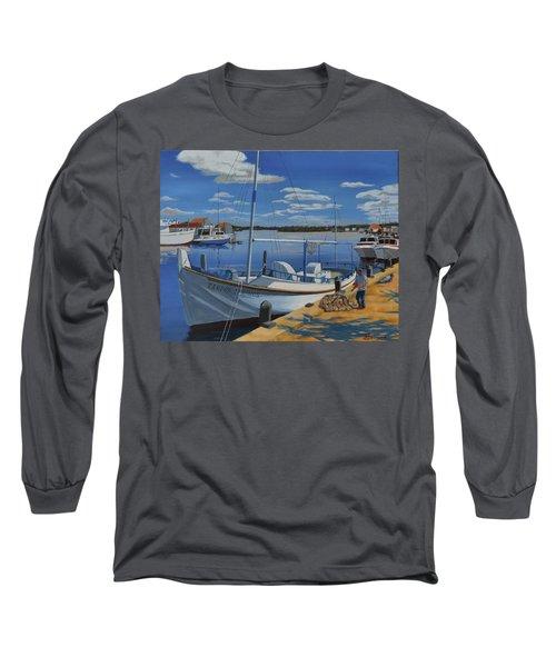 Tarpon Springs Sponger Long Sleeve T-Shirt