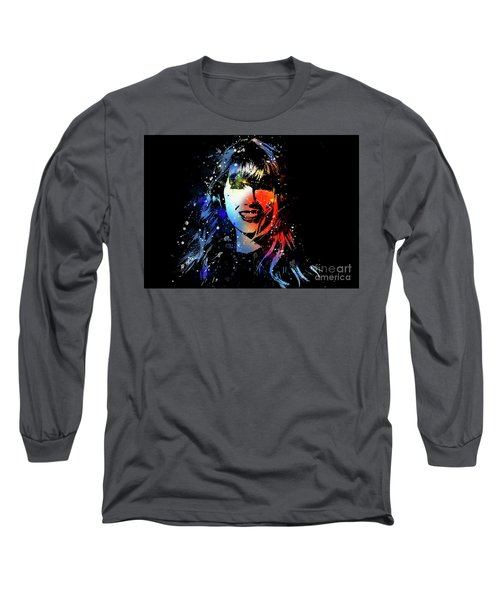 Taylor Swift Art Long Sleeve T-Shirt