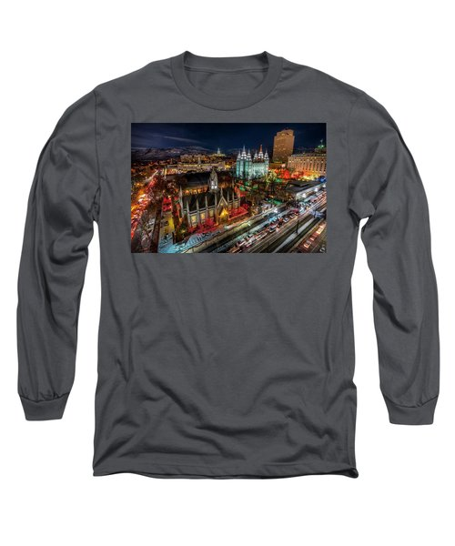 Temple Square Lights Long Sleeve T-Shirt