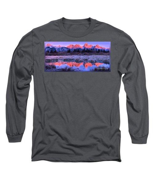 Teton Panorama T-shirt Long Sleeve T-Shirt