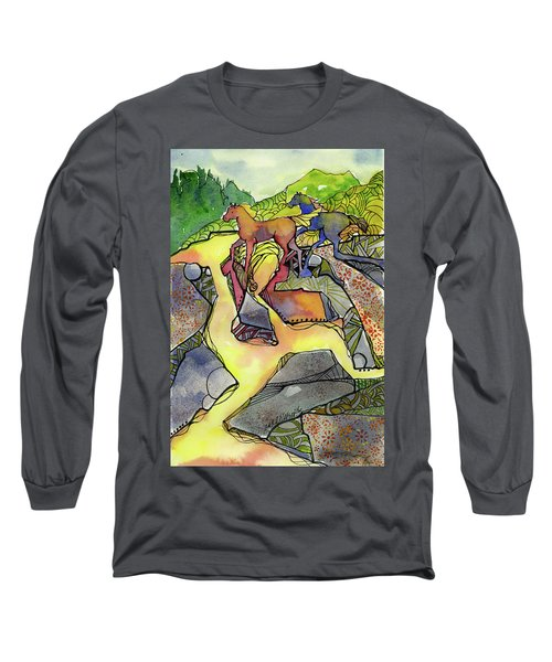 Tevis Ponies Long Sleeve T-Shirt