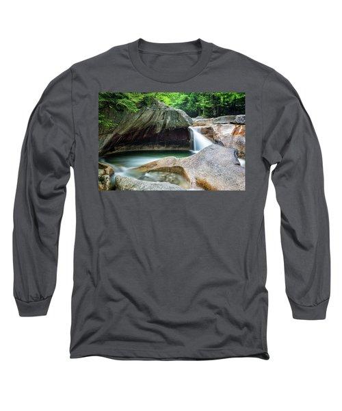 The Basin, Springtime Nh Long Sleeve T-Shirt